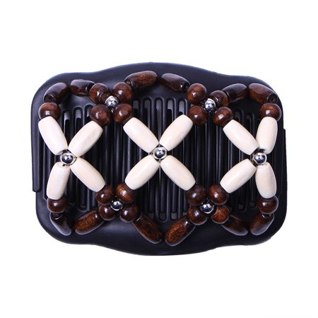 Tuscom Women Thick Hair clip combs Vintage Double Clips Waterproof Hair Slide hair accessories for bun hair Bun Maker Easy Updo Doesn't slide out of your