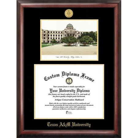 Campus Images TX953LGED Texas A&M University Gold embossed diploma ...
