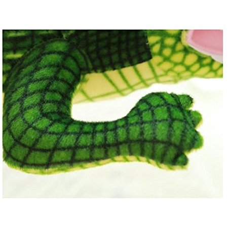 "XICHEN® 39"" Lifesize Green Adorable crocodile Soft Plush Toys, Large Stuffed Animals - image 2 of 3"