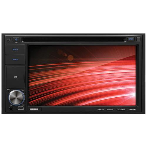 "Ssl Dd660 Car Dvd Player - 6.2"" Touchscreen Lcd - Double Din - Dvd Video, Video Cd, Mp4, Mpeg, Avi - Am, Fm - Secure Digital [sd], Multimediacard [mmc] - Auxiliary Input - 2 X Usb - (dd660)"