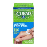 (6 pack) Curad Alcohol Prep Pads, 100 ct.