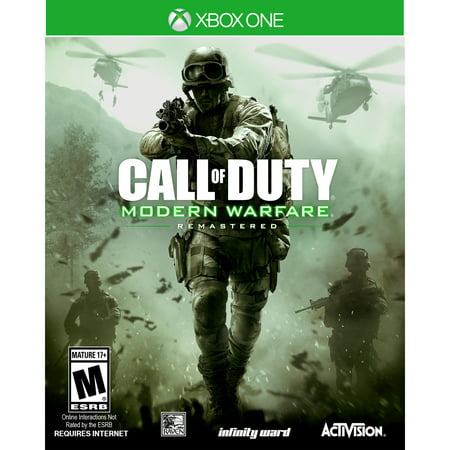 Call of Duty: Modern Warfare Remastered, Activision, Xbox One,