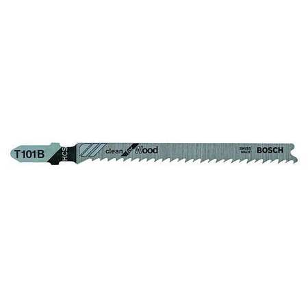 BOSCH T101B Jigsaw Blade,High Carbon Steel,PK5