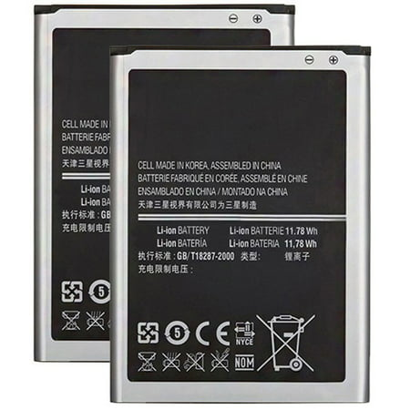 Replacement Battery 3200mAh for Samsung Galaxy Note 3 Dual Sim / SM-N900 Phone Models (2 (Galaxy Note 3 Model Number Sm N900)