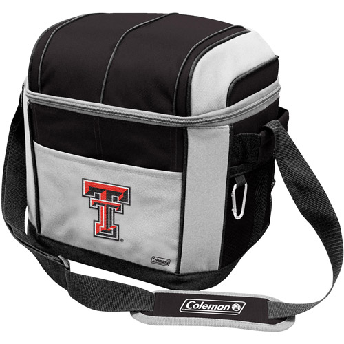 "Coleman 11"" x 9"" x 13"" 24-Can Cooler, Texas Tech Red Raiders"