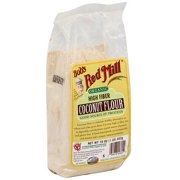 Bob's Red Mill High Fiber Organic Coconut Flour, 16 oz (Pack of 4)