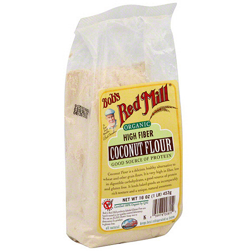 Bob's Red Mill High Fiber Organic Coconut Flour, 16 oz (Pack of 4)