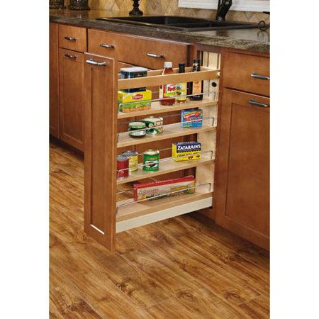 Rev-A-Shelf  448-BCBBSC-8C  Pull Out Organizers  448  Base Cabinet Organizers  Shelves  tural/Wood
