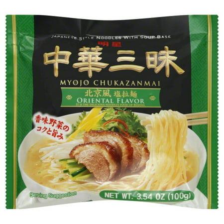 Myojo Chukazanmai Oriental Flavor Noodles, 3.55 oz](Oriental Noodles)