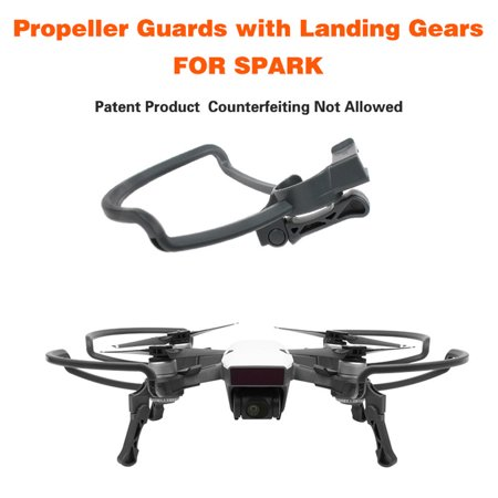 Propellers Guards+Extend Landing Legs Gear Kit Protection for DJI SPARK Drone -