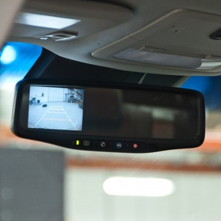Brandmotion 9002 9510 Gm Onstar Auto Dimming Mirror With 3 5 Inch Color Display