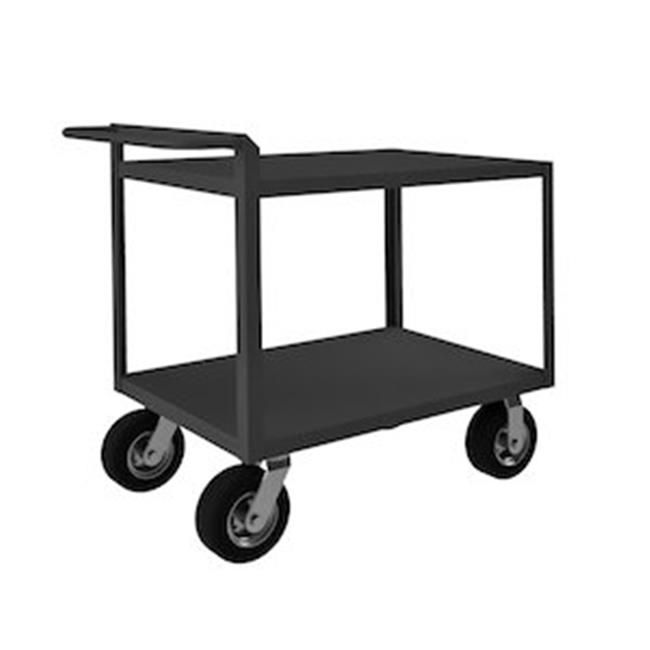 Durham RSCR-243638-ALD-95 38 in. Rolling Service Cart, Gray - 1500 lbs