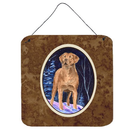 - Starry Night Chesapeake Bay Retriever Wall or Door Hanging Prints