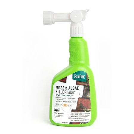 Safer Brand 32 oz. Moss and Algae Killer and Surface