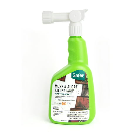 Safer Brand 32 oz. Moss and Algae Killer and Surface Cleaner ()