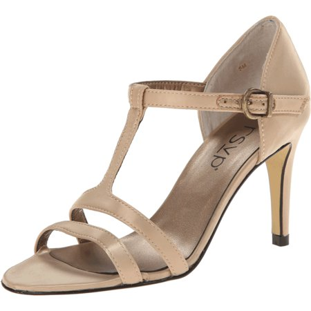 10cce3245f57 RSVP - RSVP NEW Gold Champagne Shoes Size 10M Evan Strappy Pumps Heels -  Walmart.com