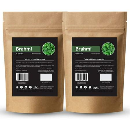 Herb Essential Pure Brahmi Powder, 50 g (Pack of 2) Brahmi Herb Powder