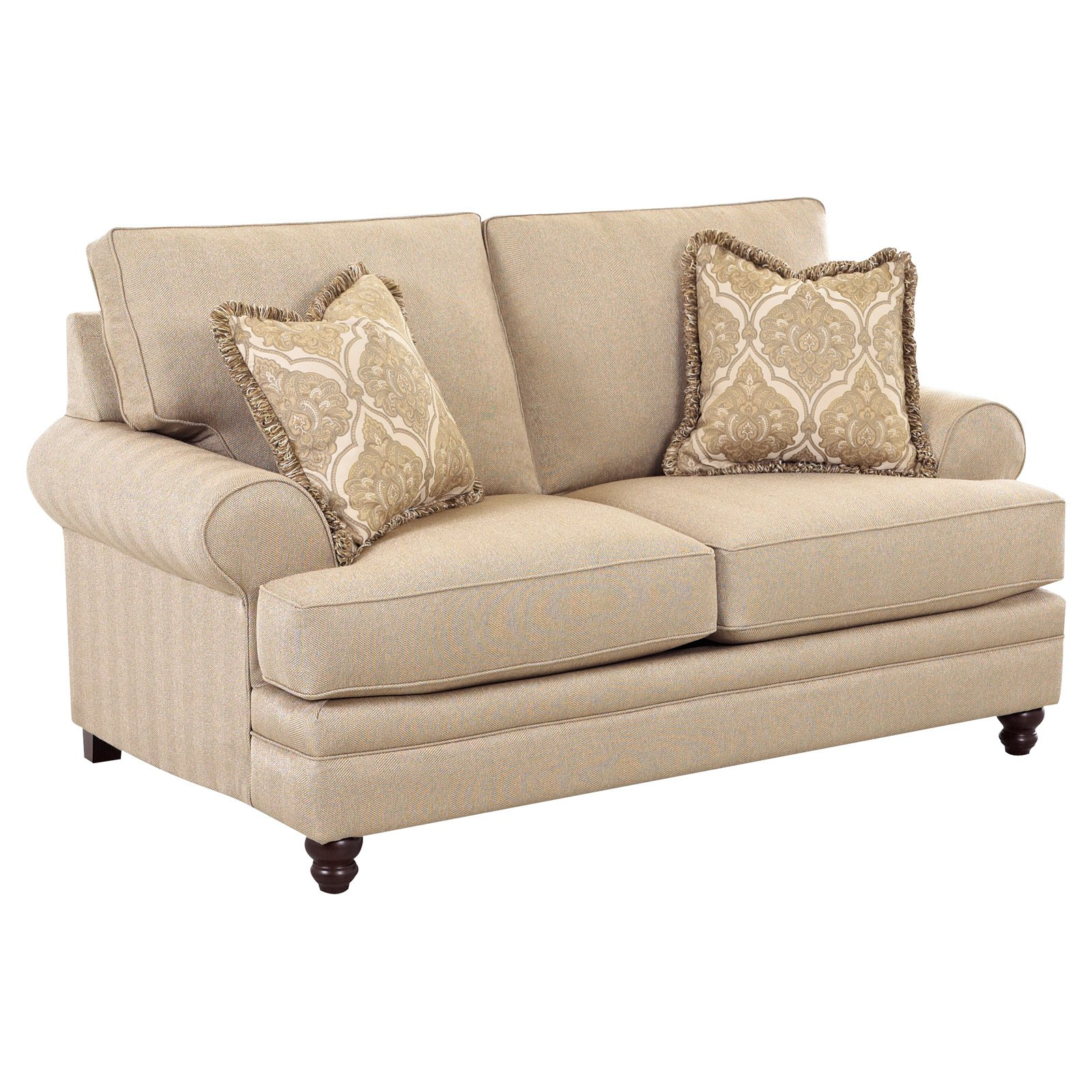 Klaussner Darcy Fabric Loveseat by Overstock