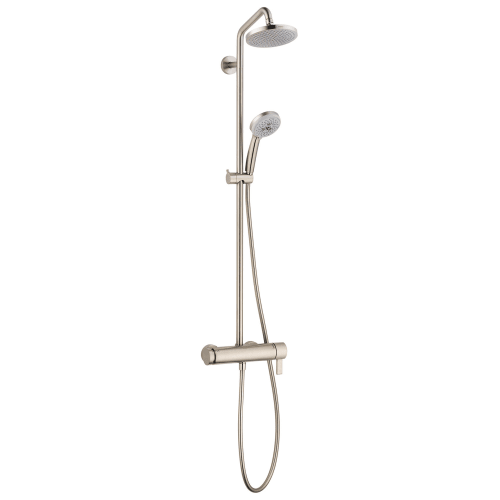 Hansgrohe 4530 Croma Pressure Balanced Showerpipe with 2.0 gpm Shower Head and Handshower  - Valve Not Included
