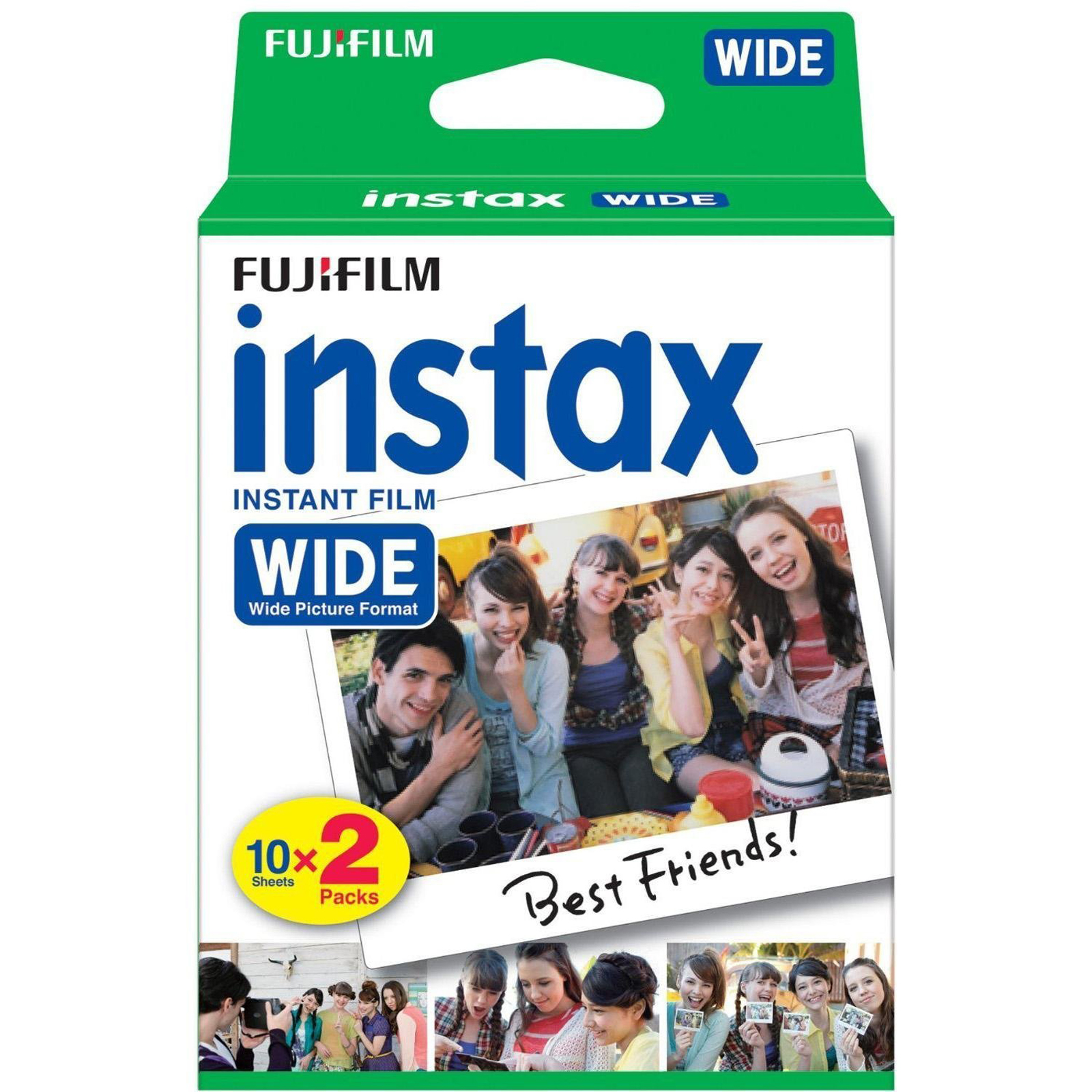 Instax WIDE film - 2-Pack