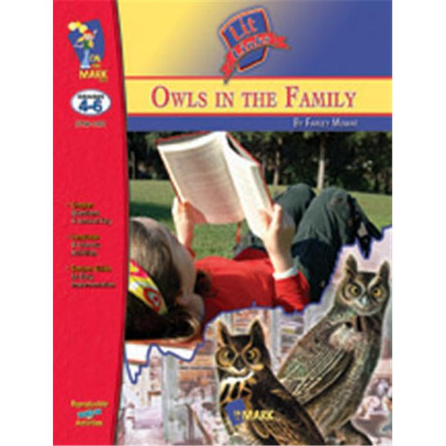 On The Mark Press OTM1431 hiboux dans la famille Lit r-f-rence 4-6 - image 1 de 1