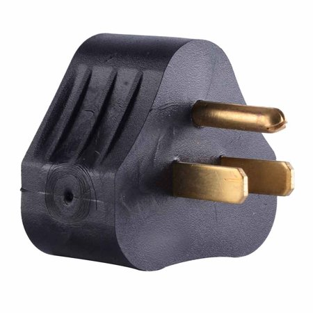 RVA1515 RV Adapter 15 Amp Male to 30 Amp Female Connector Plug Camper Motorhome Triangle, Specifications: By Superior - Triangle Connector
