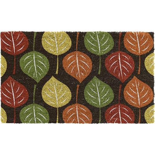 Better Homes and Gardens Falling Leaves Coco Mat