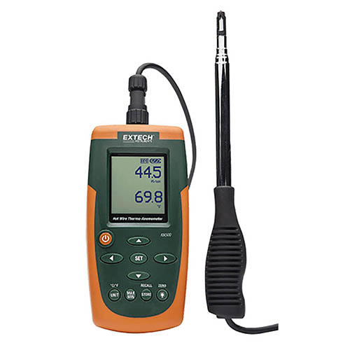 Anemometer,40 to 3940 fpm EXTECH AN500