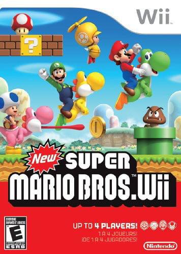 New Super Mario Bros., Nintendo, Nintendo Wii, 045496901738