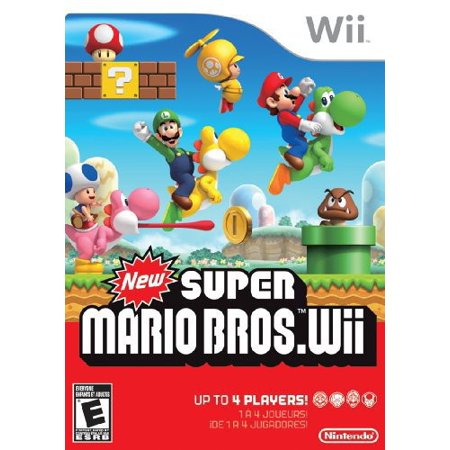 New Super Mario Bros., Nintendo, Nintendo Wii, 045496901738](Super Paper Mario Fire Tablet)