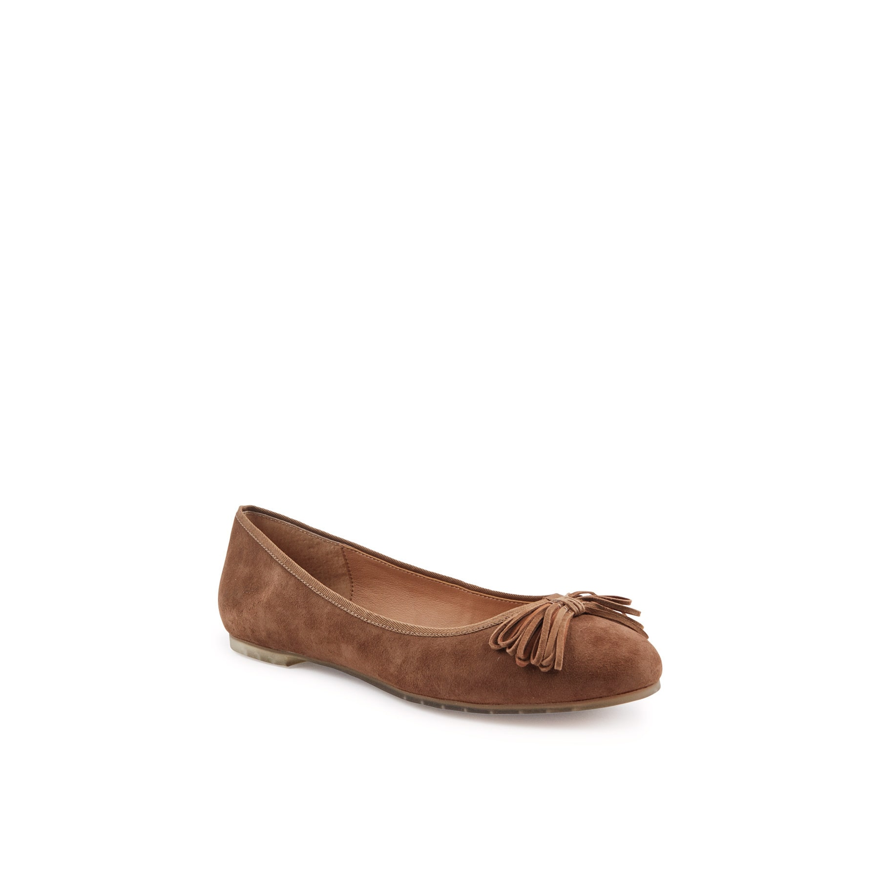 Me Too Women's Cassi14 Chestnut Suede Flats by Overstock