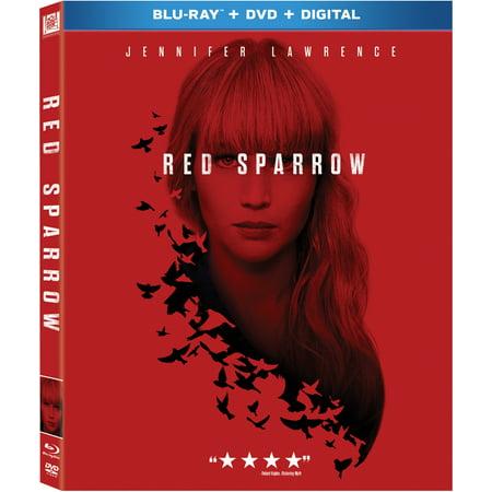 Red Sparrow (Blu-ray + DVD + Digital)