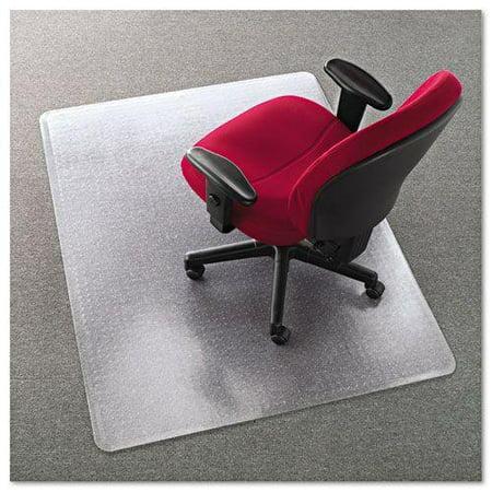 Cleated Chair Mat For Medium Pile Carpet 46w X 60l Clear