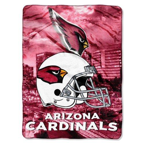 Northwest Co. NFL Cardinals Raschel Throw Blanket