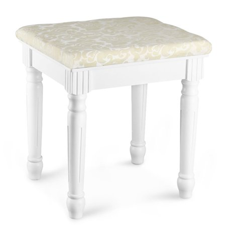 Tribesigns Vanity Stool Makeup Dressing Stool Pad Cushioned Chair ...