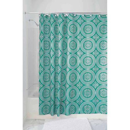 Interdesign Medallion Fabric Shower Curtain Various Sizes