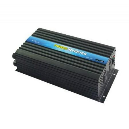 Control Pure Sine Wave Output - Nimble NR2000 Pure Sine Wave Off-grid Inverter with Remote Control, Solar Inverter 2000 Watt 12 Volt DC To 110 Volt AC (12VDC)