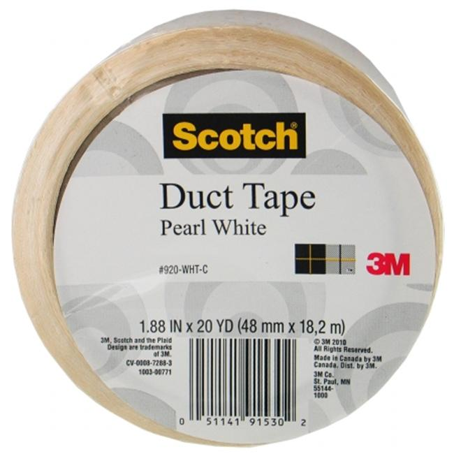 Scotch Duct Tape Pearl White