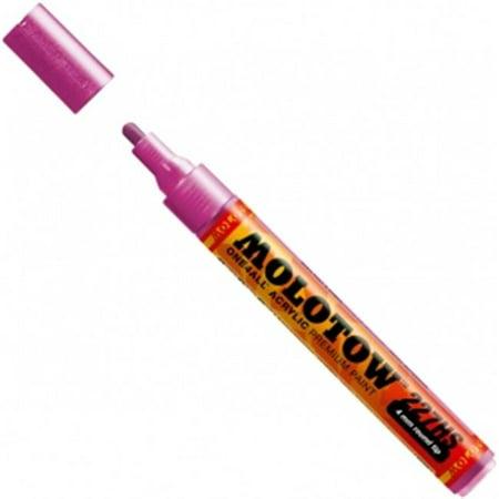 MOLOTOW 4mm Round Tip Acrylic Pump Marker Metallic Pink