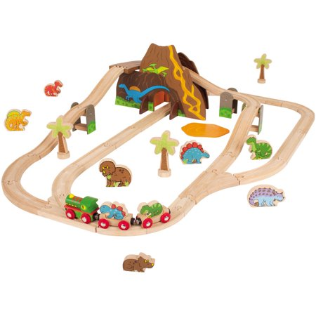 BigJigs Rail Dinosaur Play Train Set