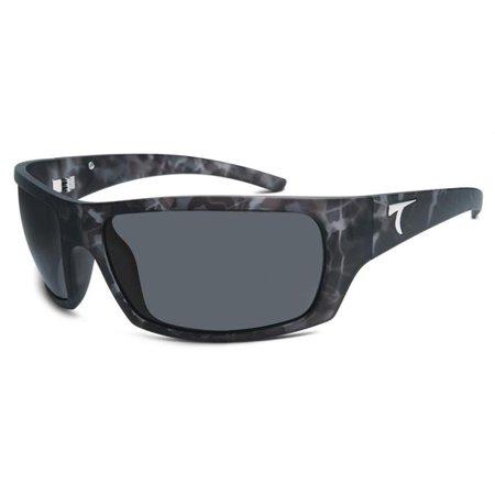 8a8bd8cf43a Typhoo - n 950TMCYHG CAYUCOS Mens Polarized Sunglasses with Matte Camo Frame   Horizon Grey Lenses - Walmart.com