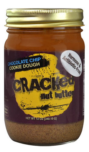 Cracked Nut Butter Cracked Nut Butter Chocolate Chip Cookie Dough -- 12 oz pack of 1 by Cracked Nut Butter