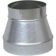 IMPERIAL MFG GROUP USA INC 8 x 7-Inch Galvanized Pipe Increaser/Reducer GV0792