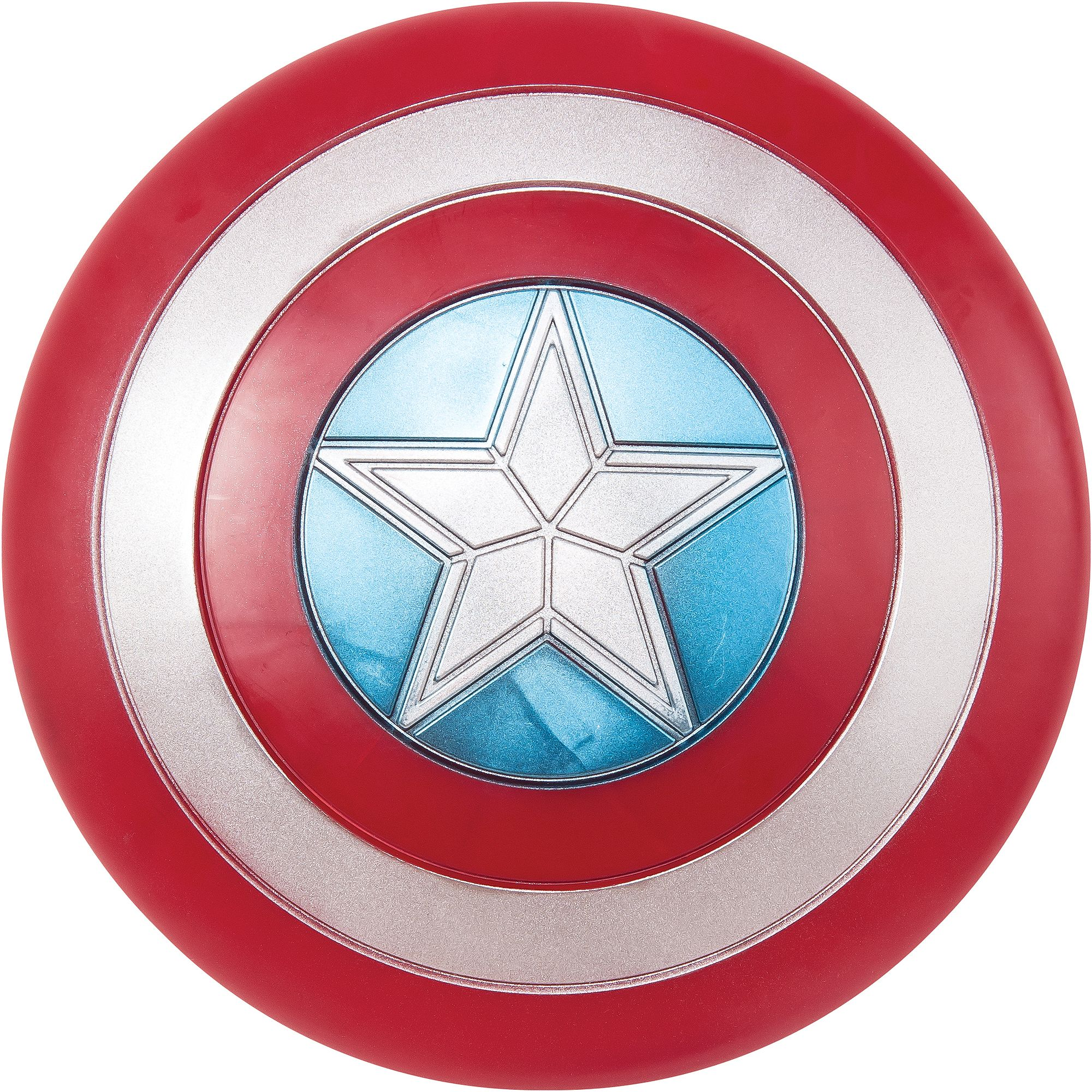 "Adult Captain America 24"" Shield Halloween Accessory"
