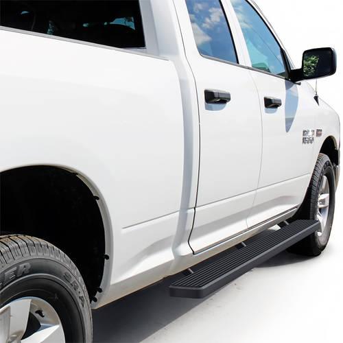 """2009-2018 Dodge Ram 1500 Quad Cab 5"""" Matte Black iStep Side Step"""