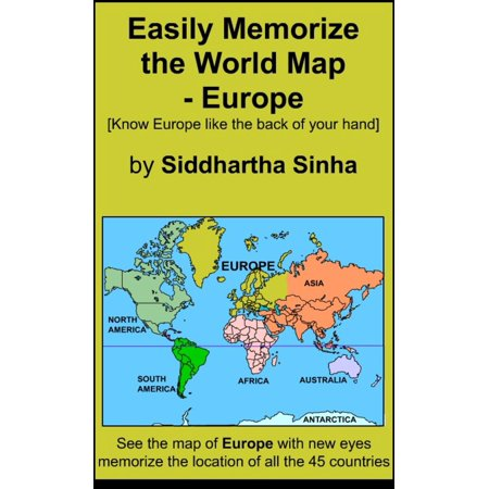 Australia Map In Europe.Easily Memorize The World Map Europe Ebook