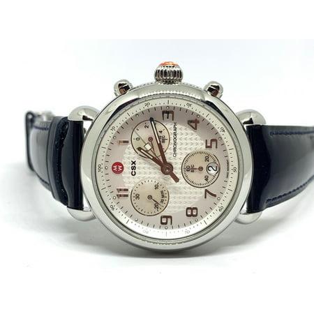 Michele CSX Chronograph Steel Swiss Quartz Ladies Watch MW03D00A0025
