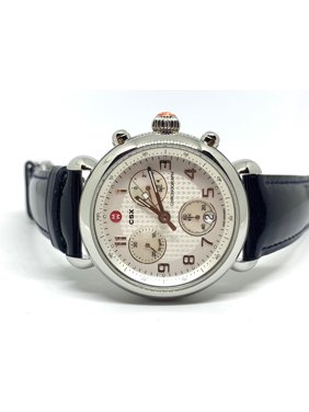 435fa4f36 Product Image Michele CSX Chronograph Steel Swiss Quartz Ladies Watch  MW03D00A0025
