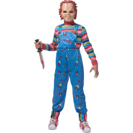 Chucky Halloween Costume for Boys, Large/Extra Large, with Accessories (Chucky Diy Costume)