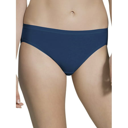Fruit of the Loom Women's Beyondsoft Bikini, 6 Pack (Womans Panties Size 6)
